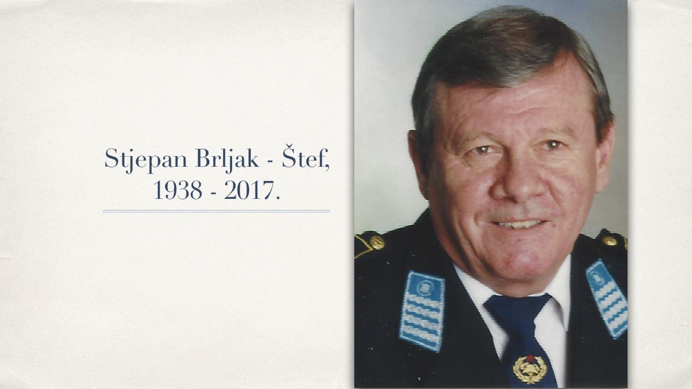 Umro je naš kolega, gospodin Stjepan Brljak