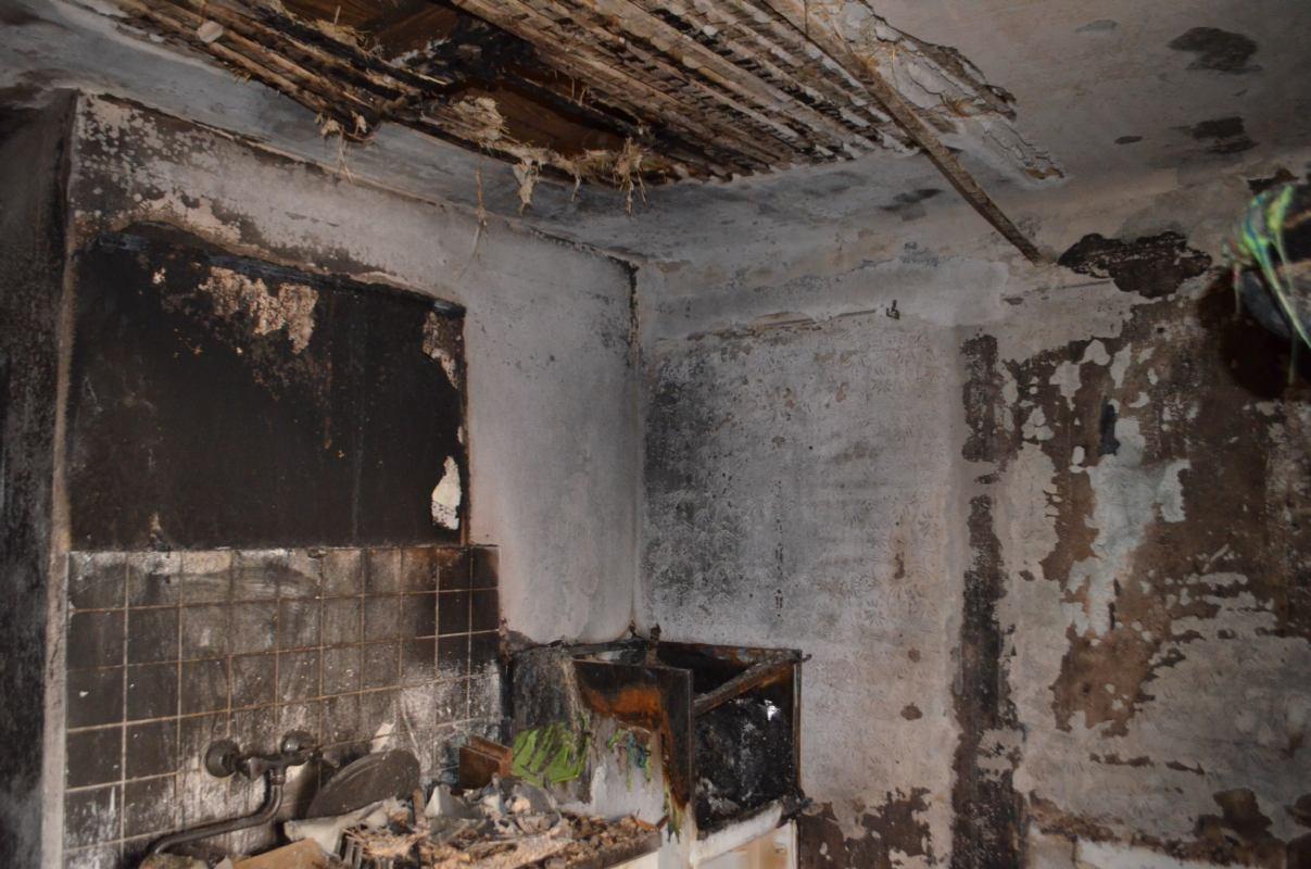 Požar kuće u staroj jezgri Cresa - 11.08.2017.