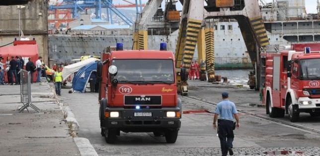 Vatrogasci na vježbi operativnih snaga civilne zaštite PGŽ