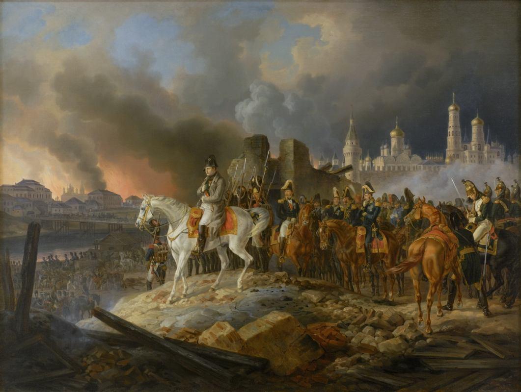 Na današnji dan, 14. rujna 1812. Moskva gotovo izgorjela  velikom požaru