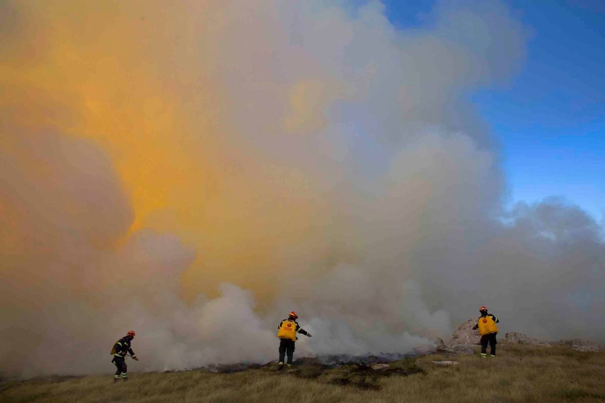 Požar na Velebitu