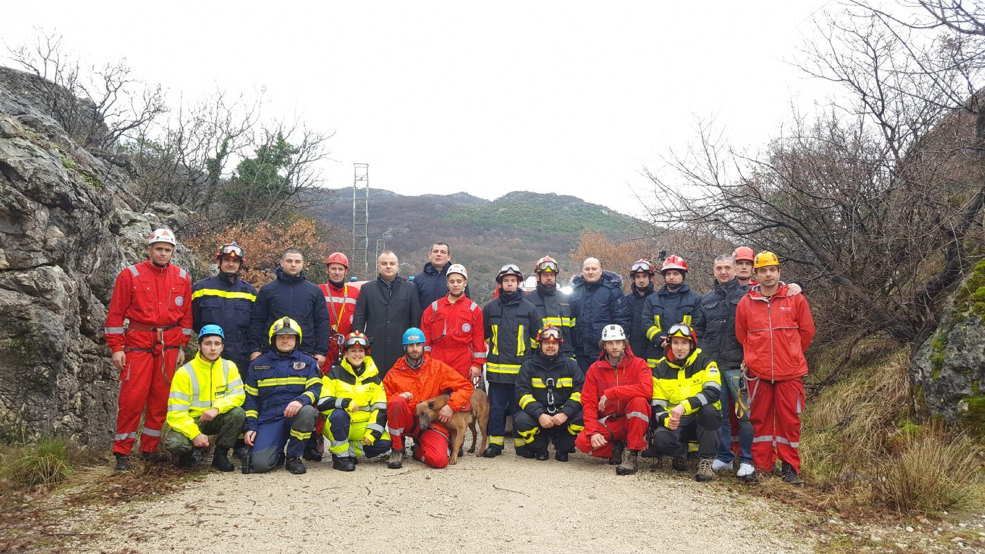 Primorsko-goranski vatrogasci u Crnoj Gori