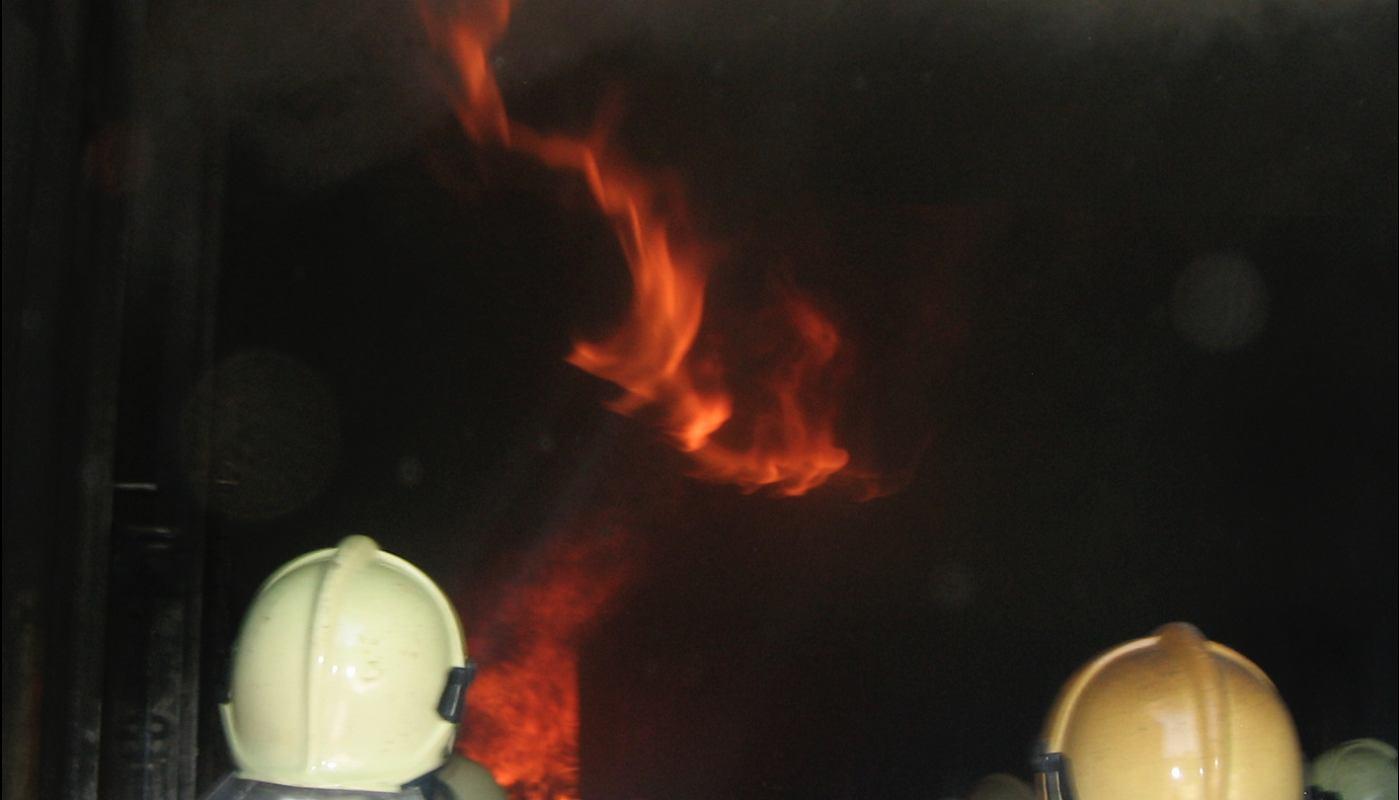 Gašenje požara u zatvorenom prostoru