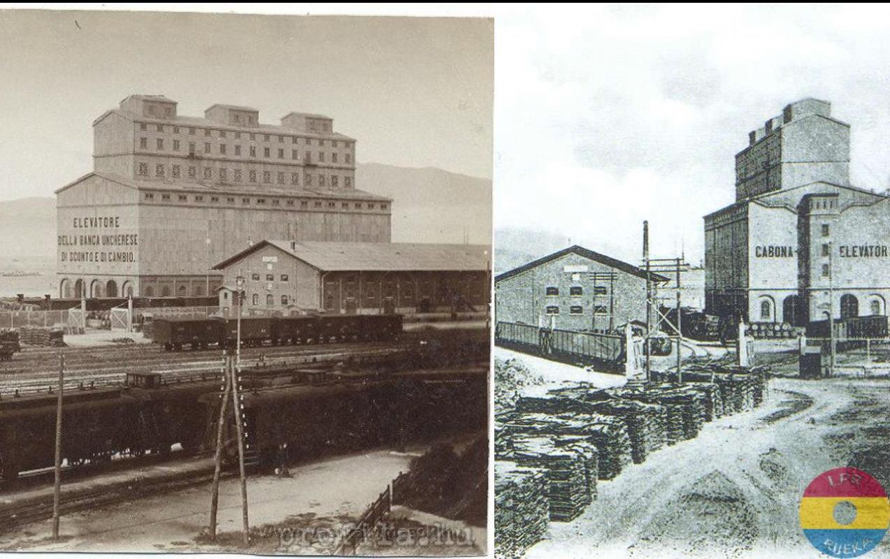 Požar na silosu 06.02.1907.