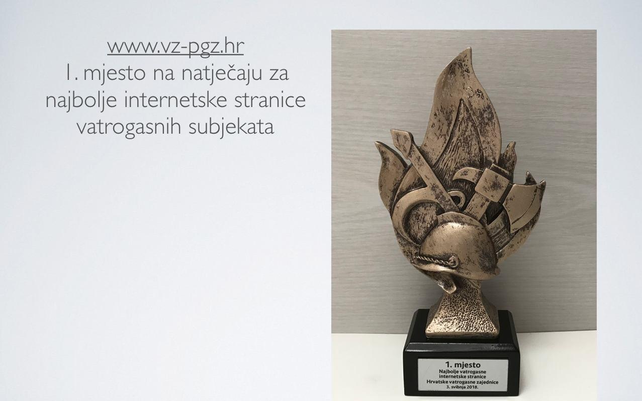 Internetska stranica Vatrogasne zajednice Primorsko-goranske županije proglašena najboljom