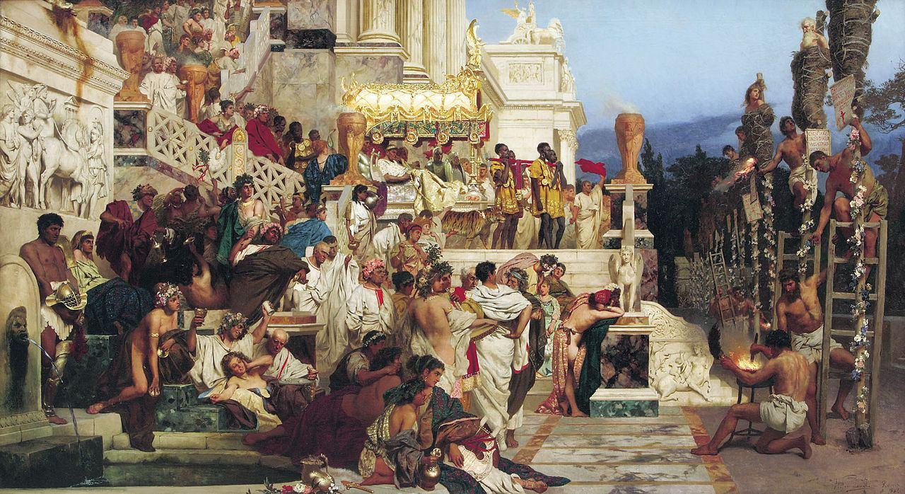 Na današnji dan 18. srpnja 64. godine izgorio carski grad - Rim
