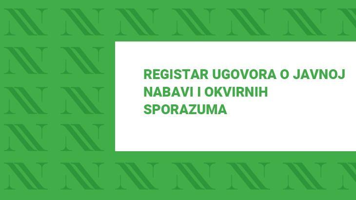 Registar ugovora o nabavi Vatrogasne zajednice Primorsko-goranske županije za 2018. godinu