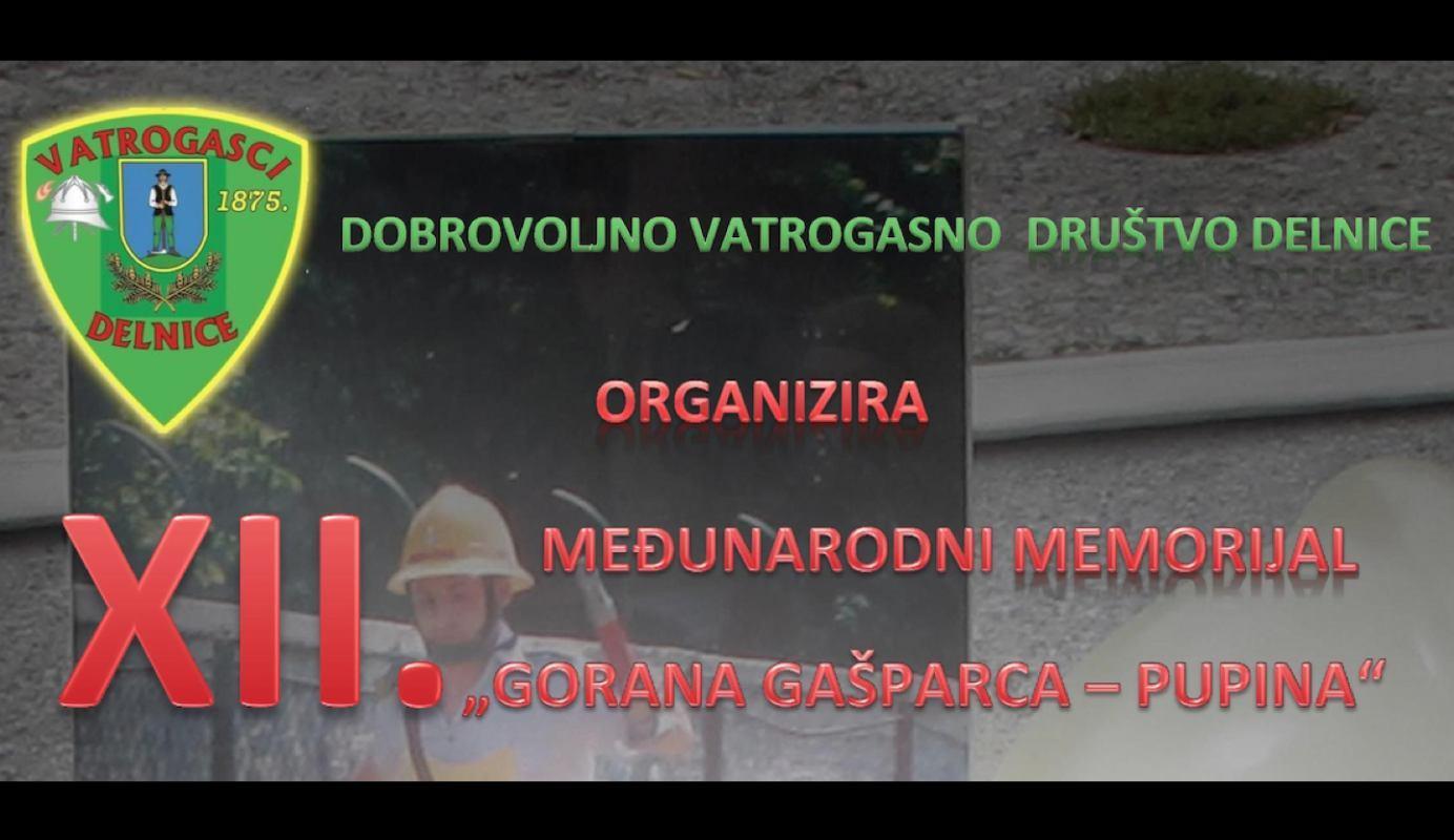 """12. međunarodno memorijalno natjecanje """"Goran Gašparac - Pupin"""""""