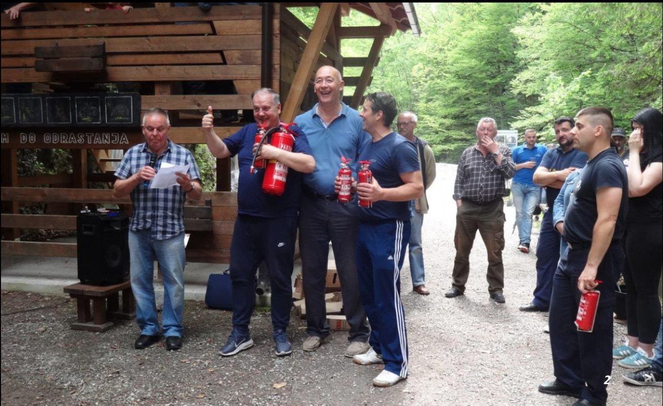 Kamačnik - održan 6. vatrogasni kotlić