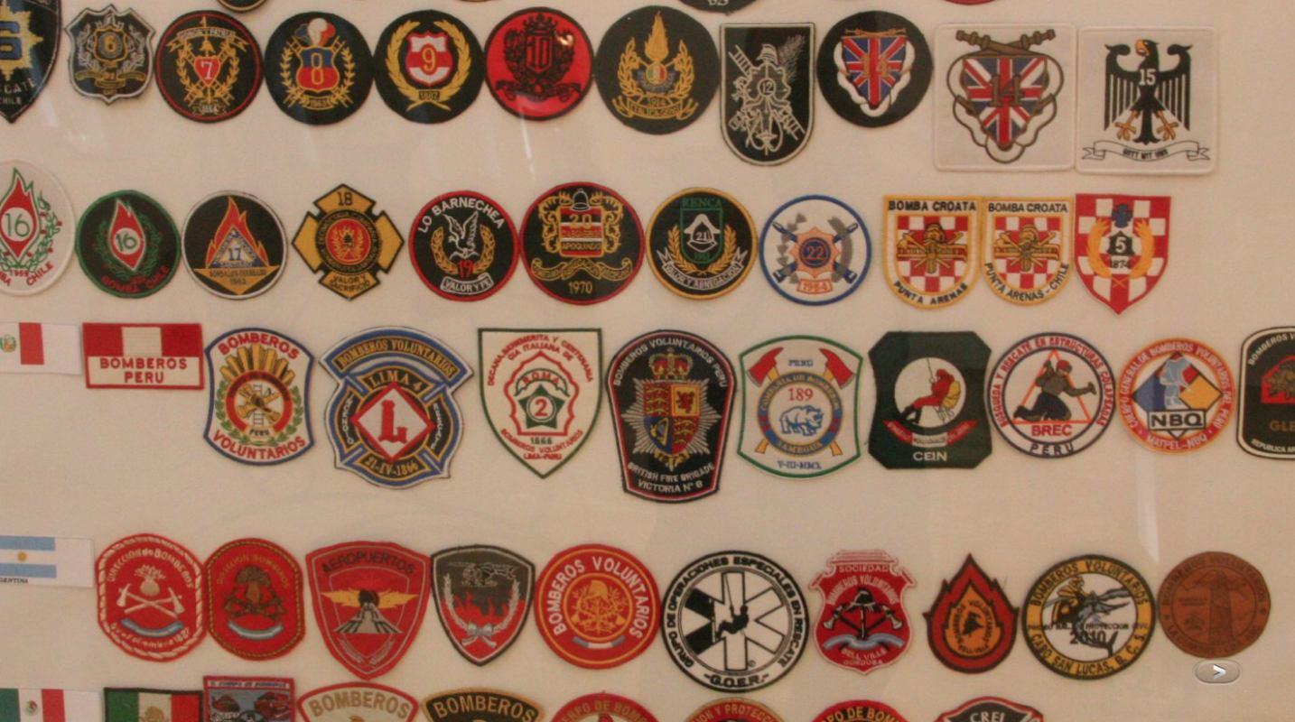 Izložba amblema u Muzeju vatrogastva u Varaždinu