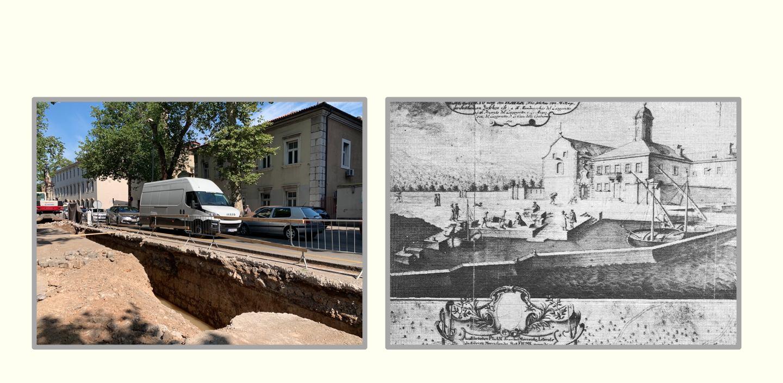 Građevinski radovi u Krešimirovoj ulici u Rijeci potvrdili povezanost riječkih vatrogasaca s Riječkom lukom