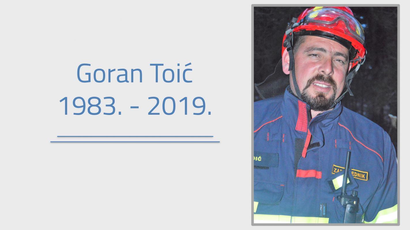 Umro je naš kolega Goran Toić