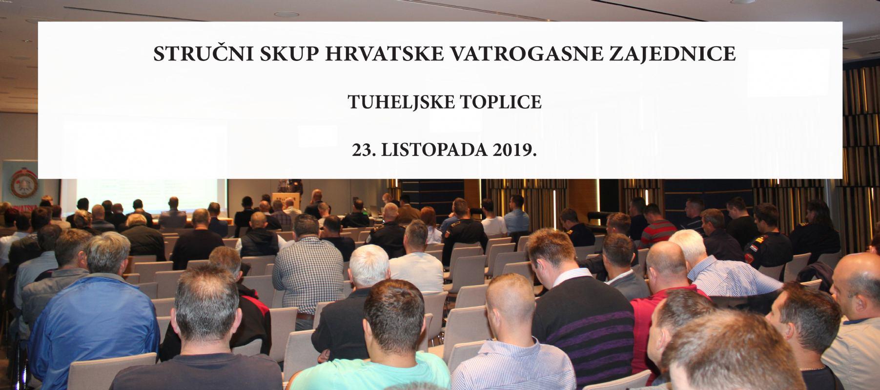 Hrvatska vatrogasna zajednica organizira 10. stručni skup vatrogasaca
