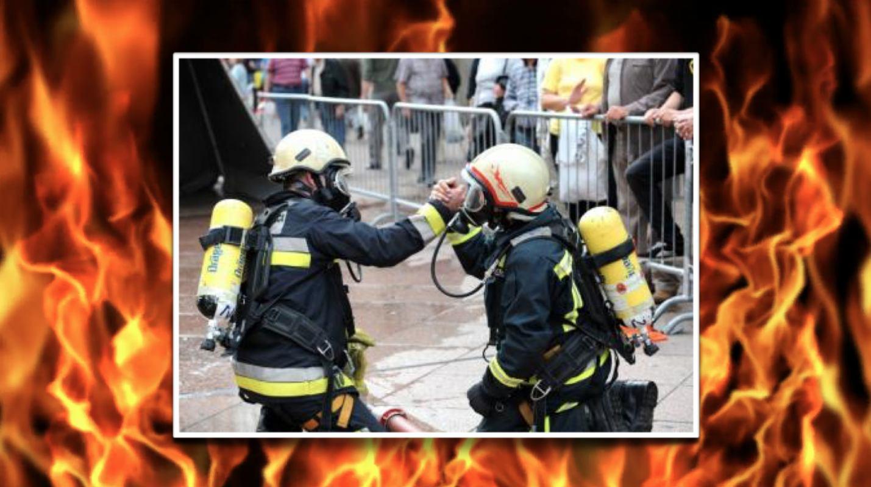 Spektakularno vatrogasno natjecanje na riječkom Korzu