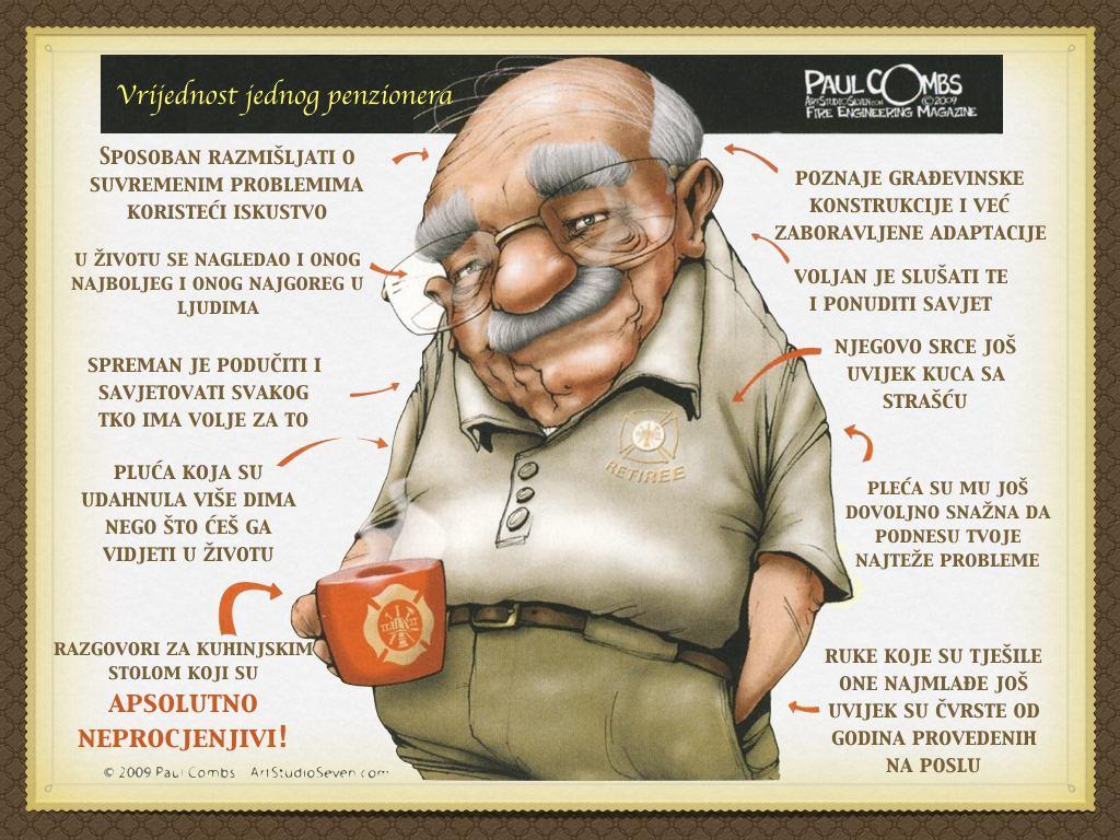 Vrijednost penzionera