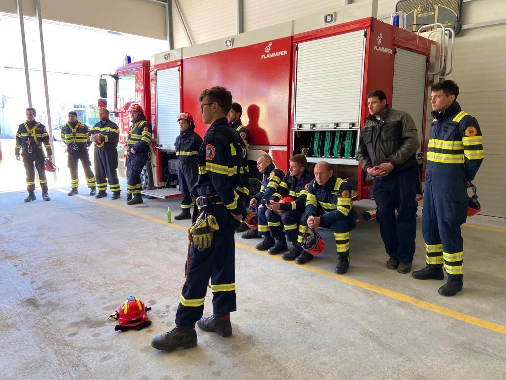 Specijalističko osposobljavanje vatrogasaca - SDV 1