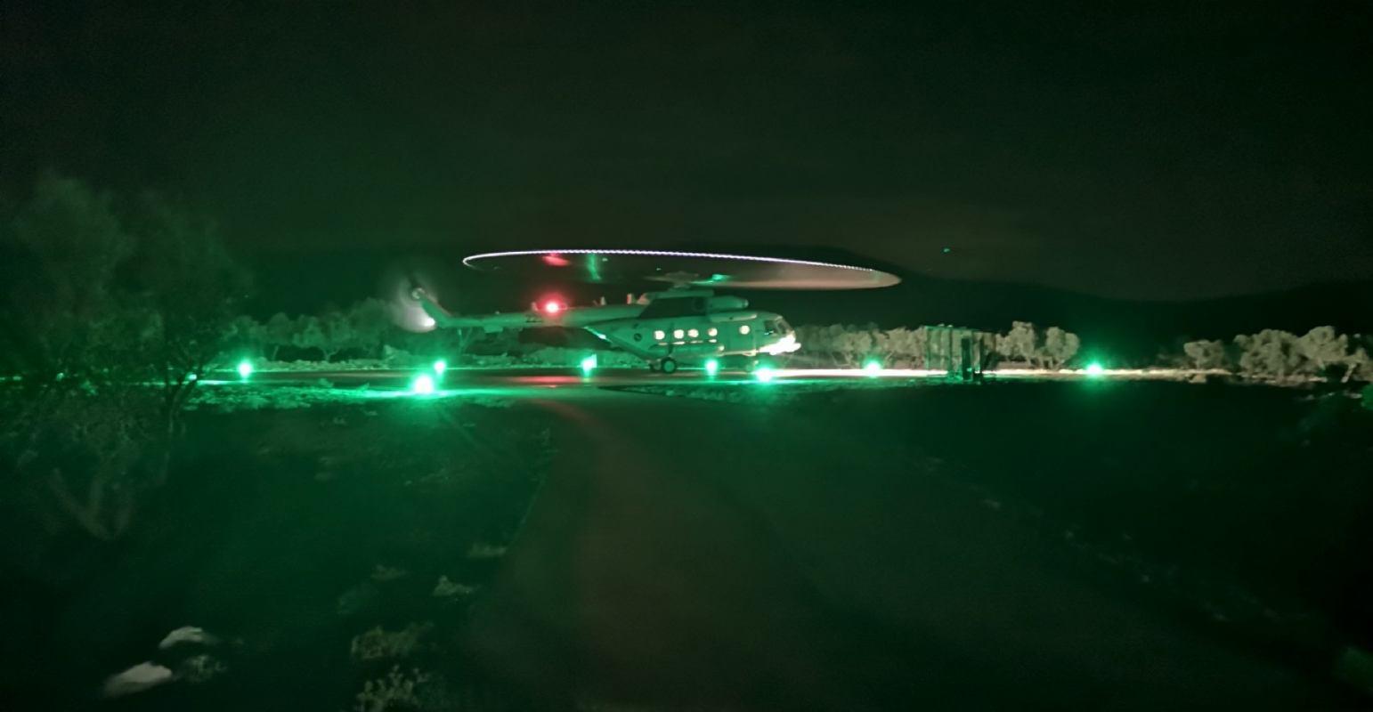 Novi sustav rasvjete i video nadzora na creskom heliodromu