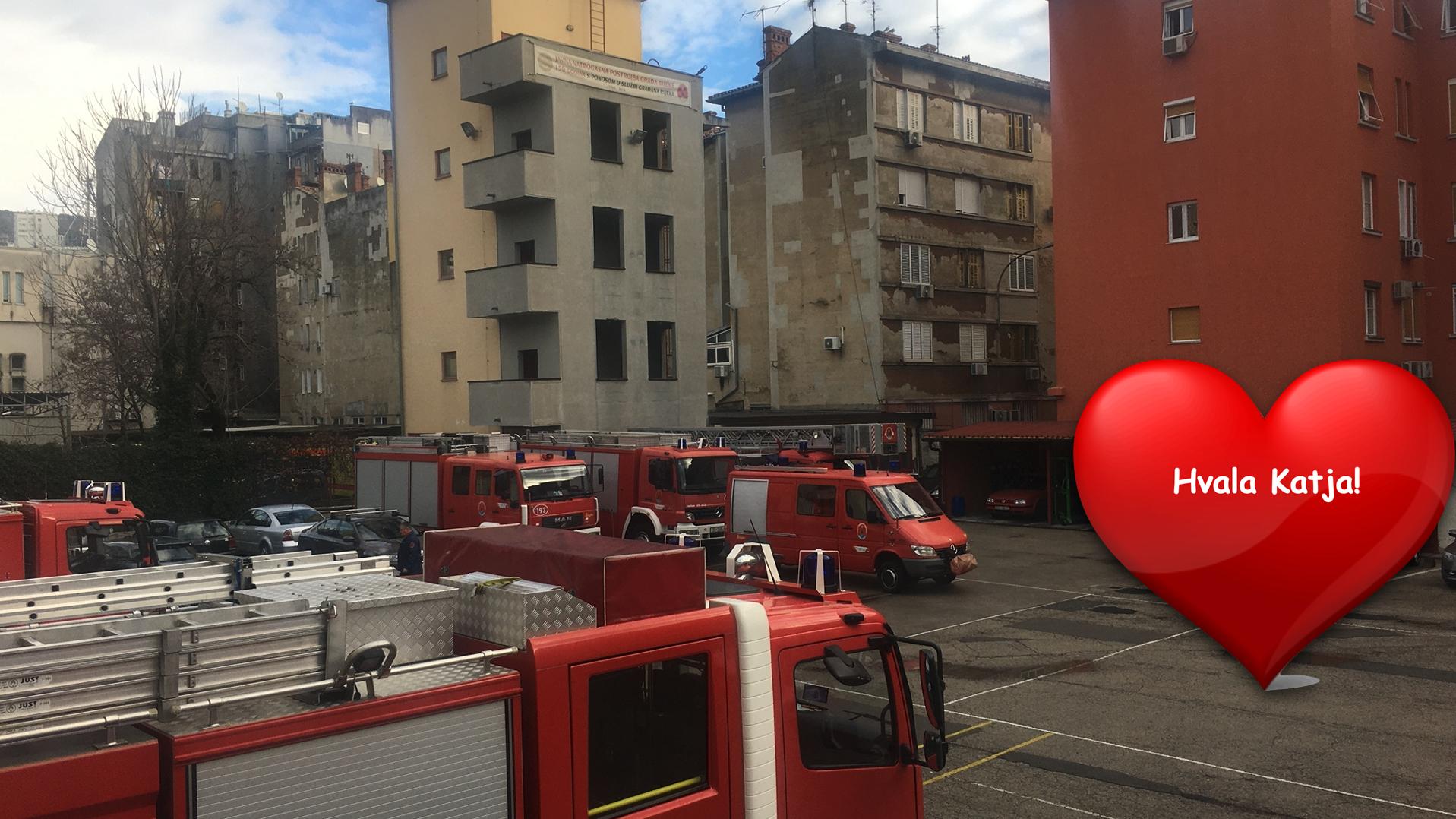 Djevojčica Katja (10 g.) iz Rijeke poslala pismo vatrogascima
